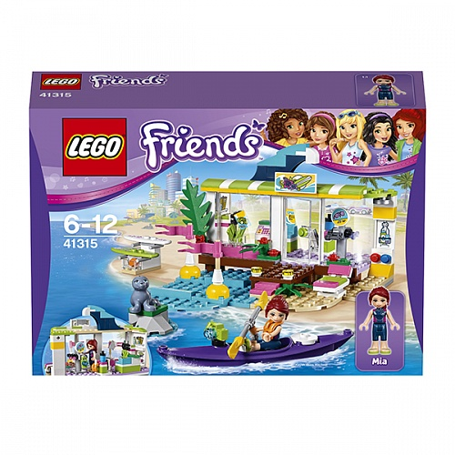 Конструктор LEGO 41315 Friends Сёрф-станция