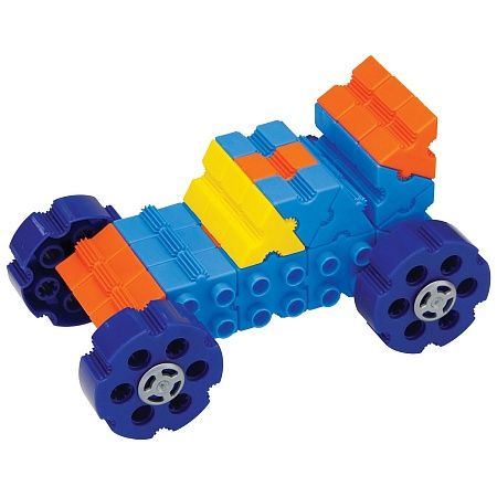 Конструктор Morphun Машины «Радуга» Junior Starter Rainbow 12 Vehicle Set